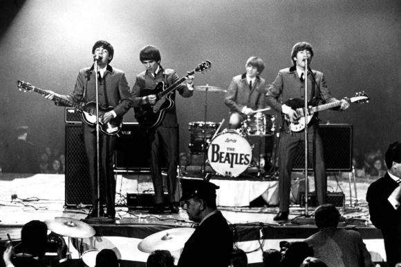 The Beatles live at the Washington Coliseum, Washington DC, 11 February 1964
