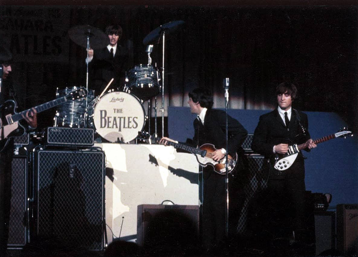 The Beatles live in Las Vegas, 20 August 1964