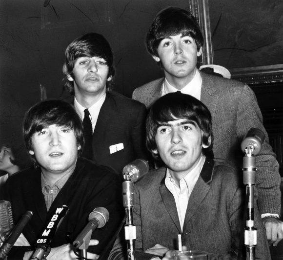 The Beatles' press conference at Stock Yard Inn, Chicago, 5 September 1964