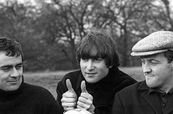 Dudley Moore, John Lennon and Norman Rossington on Not Only... But Also, 20 November 1964