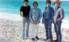 The Beatles filming Help! in the Bahamas, February 1965