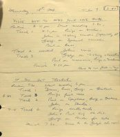 George Martin's session notes for You've Got To Hide Your Love Away and If You've Got Trouble, 18 February 1965