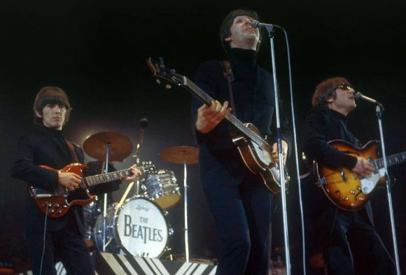 The Beatles at the NME Poll-Winners' show, 1 May 1966
