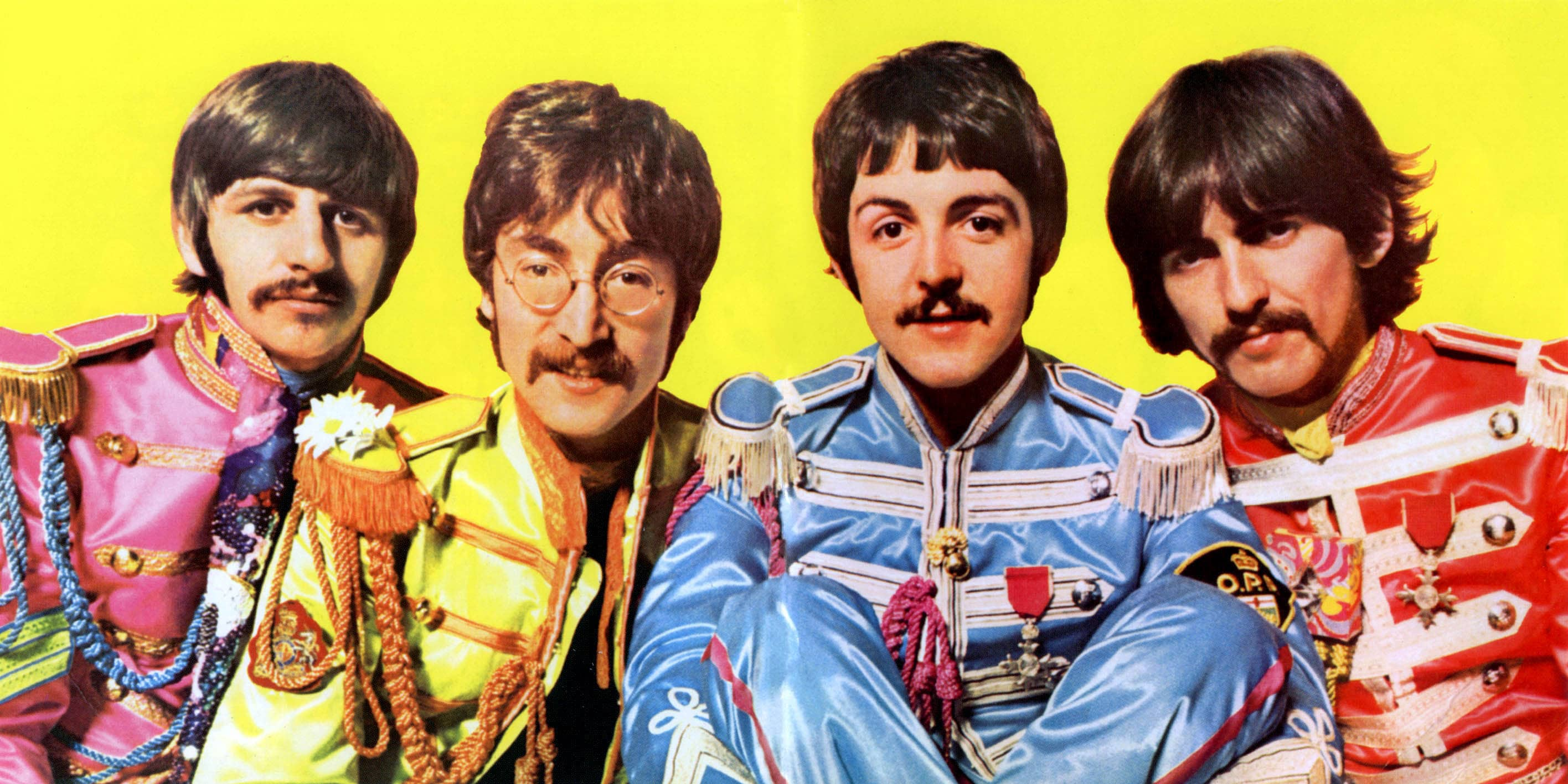 Sgt. Pepper's cover shooting