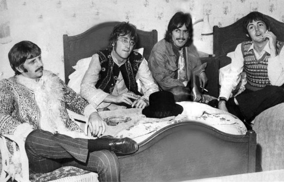 The Beatles at the Royal Hotel, Teignmouth, 11 September 1967