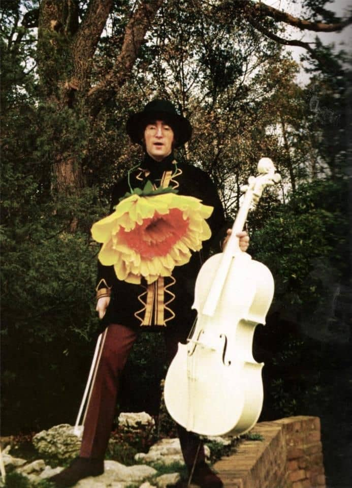 John Lennon Filming Blue Jay Way For Magical Mystery Tour 3 November 1967 The Beatles Bible