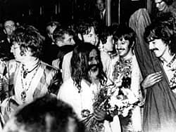 The Beatles with Maharish Mahesh Yogi, 1967
