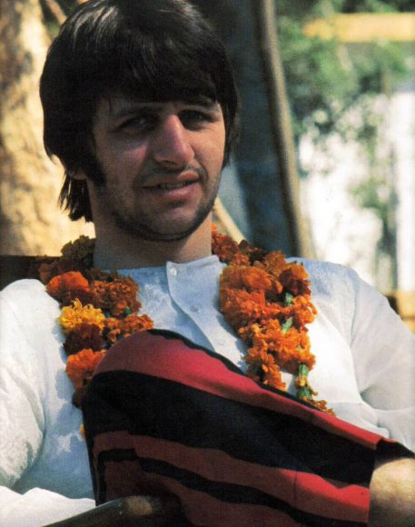Ringo Starr in India, February 1968