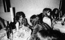 George Harrison at the launch party for Apple Tailoring, 22 May 1968