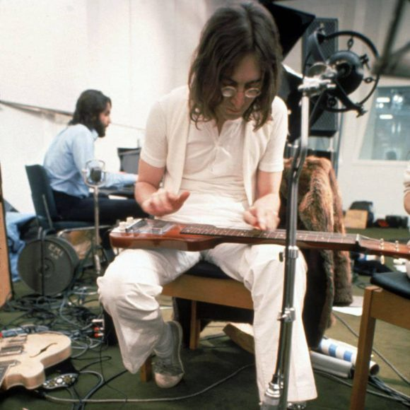 The Beatles at Apple Studios, January 1969