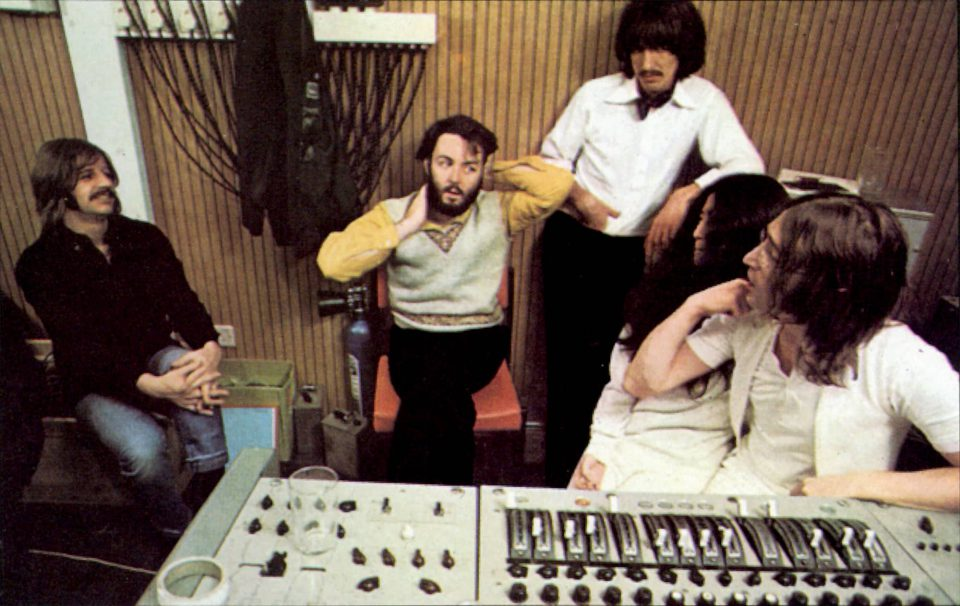 The Beatles in Apple Studios, January 1969