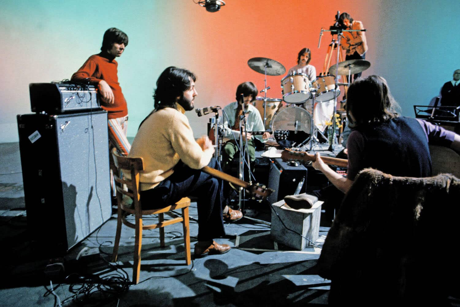 The Beatles during the Get Back/Let It Be sessions, January 1969 – The  Beatles Bible