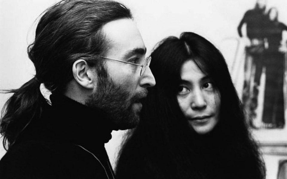 John Lennon and Yoko Ono, Apple Corps, November 1969
