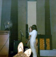 John Lennon recording Abbey Road, 1969