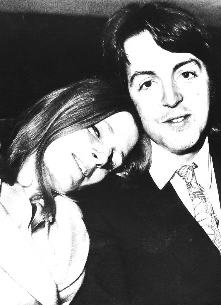 Paul And Linda McCartney 1969