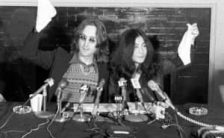 John Lennon and Yoko Ono announce their conceptual country Nutopia, 2 April 1973