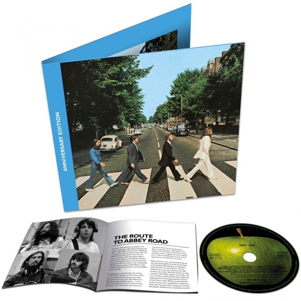 Abbey Road 50th Anniversary single CD edition
