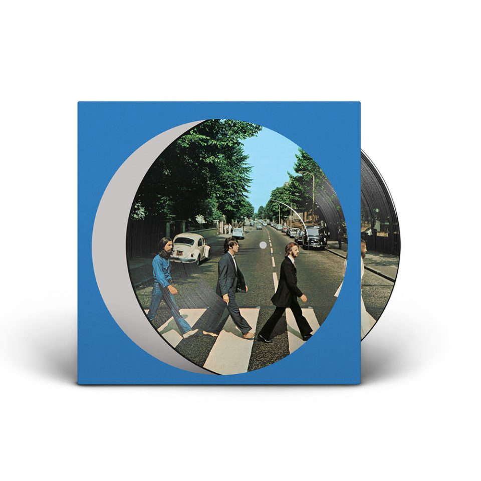 Abbey Road 50th Anniversary picture disc vinyl edition
