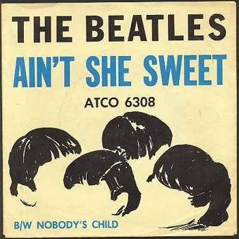 Ain't She Sweet single sleeve (US), 1964