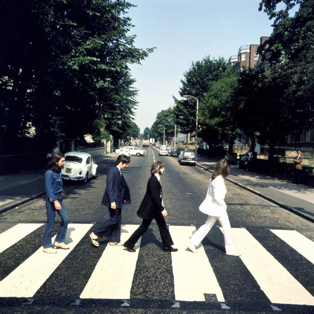 Picture one from the Abbey Road photography session