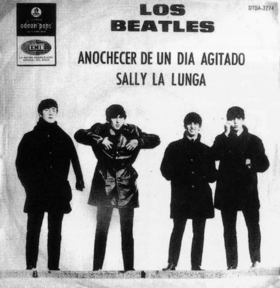 A Hard Day's Night single artwork - Argentina