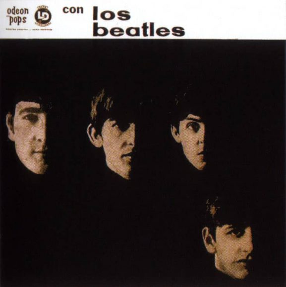 Con Los Beatles (With The Beatles) album artwork - Argentina
