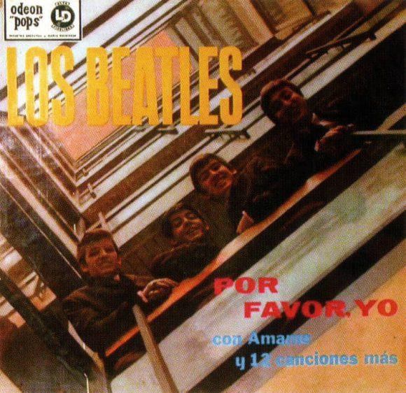 Por Favor, Yo (Please Please Me) album artwork - Argentina