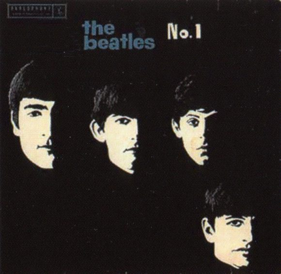 The Beatles No 1 EP artwork - Australia