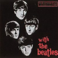 With The Beatles album and EP artwork – Australia