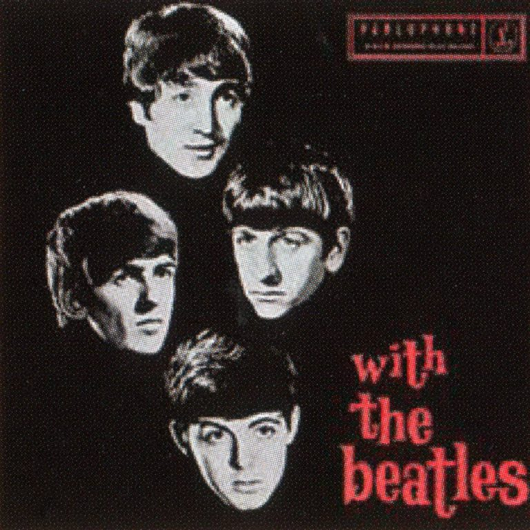 With The Beatles album and EP artwork - Australia