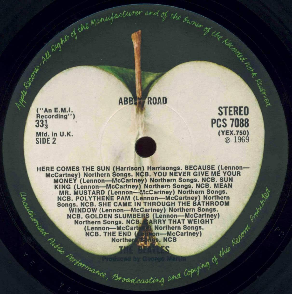 Polythene pam she came in through the bathroom window - 30 July 1969 Recording Mixing Come Together Abbey Road Medley The Beatles Bible