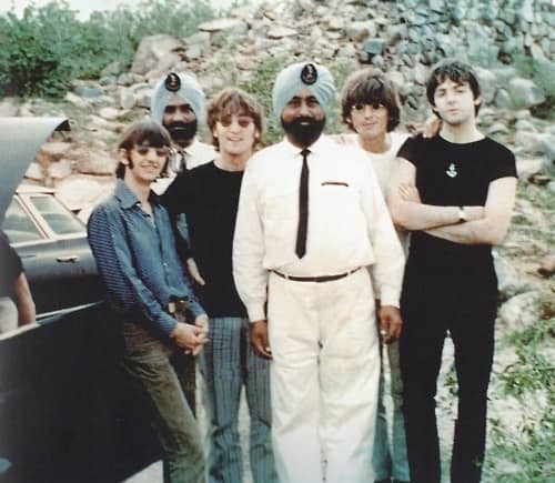 The Beatles in India, 1966