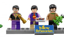 Beatles Yellow Submarine minifigs by Lego