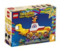 Beatles Yellow Submarine set box by Lego