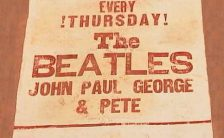 Poster for The Beatles at Litherland Town Hall, Liverpool