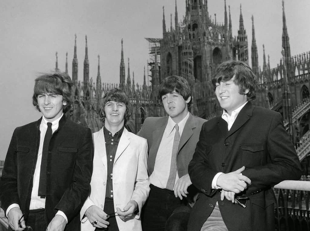 The Beatles in Milan, Italy, 24 June 1965