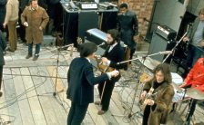 The Beatles on the Apple Rooftop, January 1969