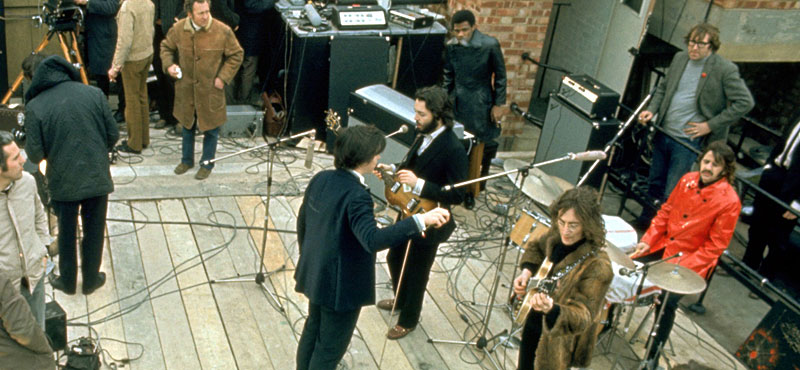 Image result for beatles rooftop concert images