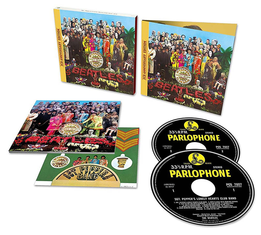 Image result for sgt. pepper's lonely hearts club band 50th anniversary