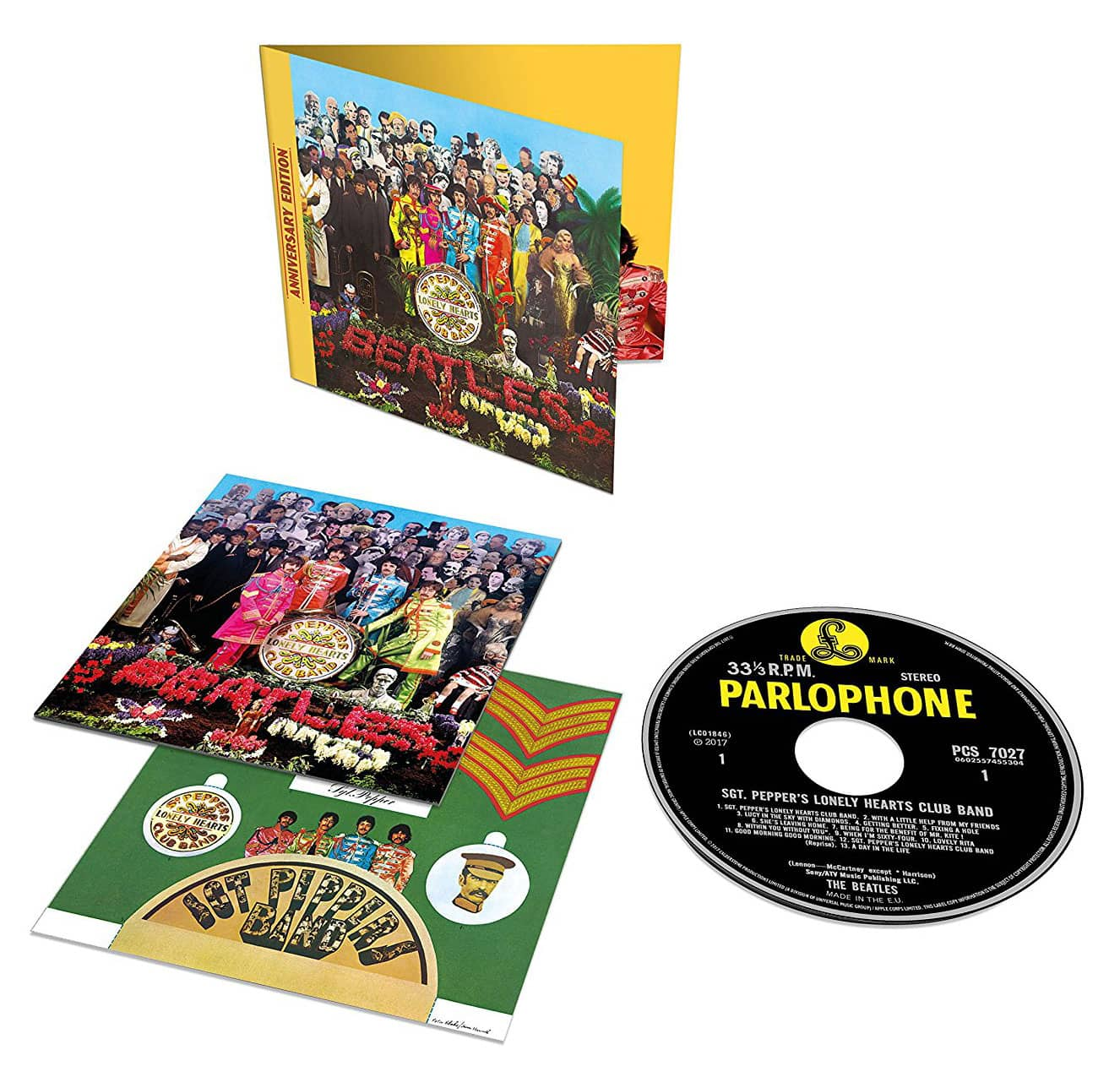 Sgt Pepper S Lonely Hearts Club Band 50th Anniversary Cd