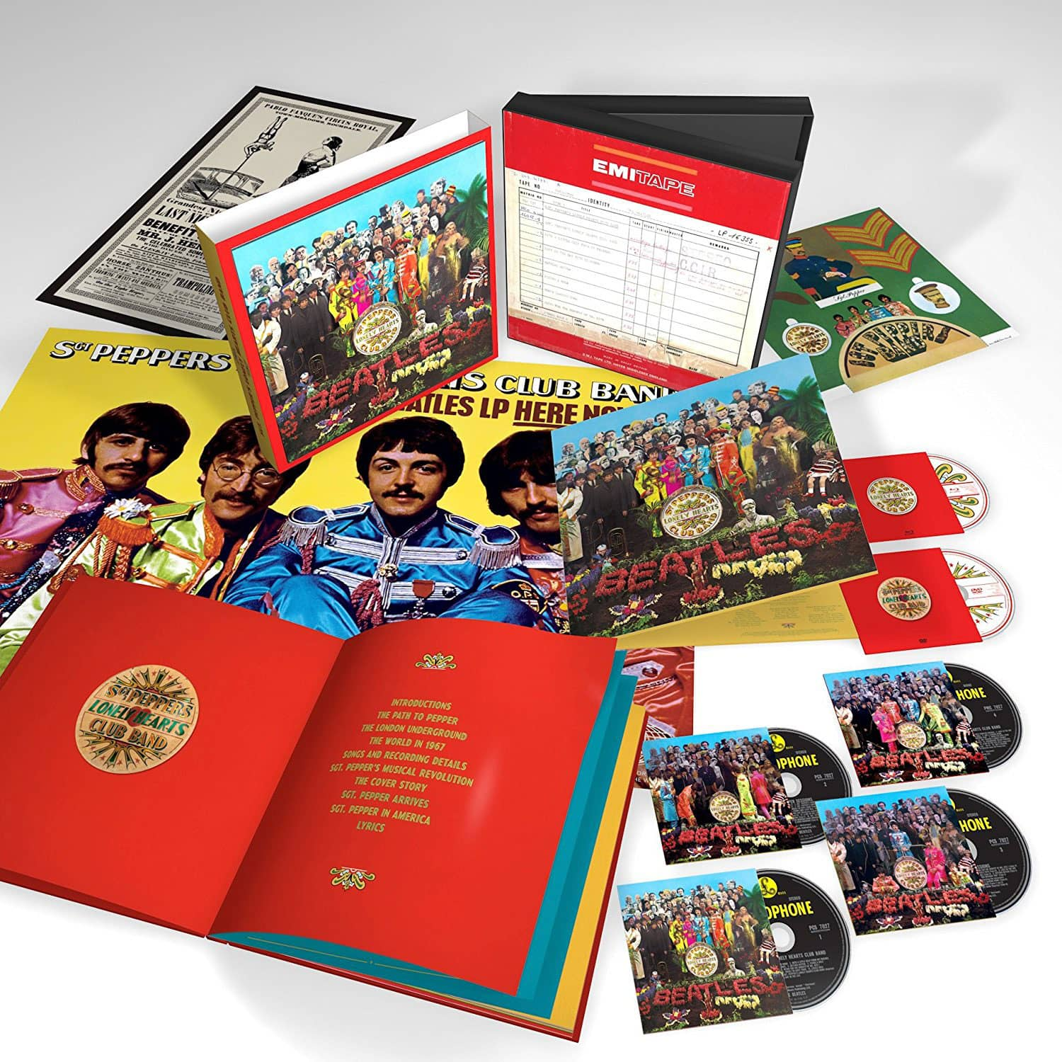Full Details Of The Beatles Sgt Pepper 50th Anniversary