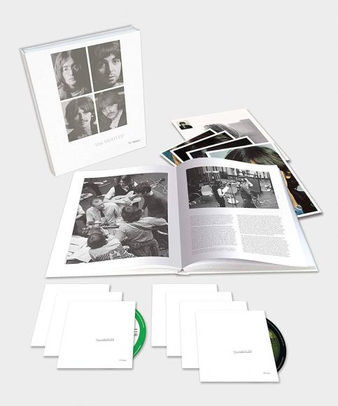 The Beatles' White Album – 2018 super deluxe box set with six CDs and Blu-ray