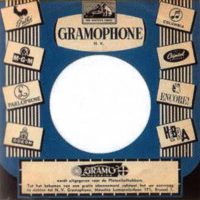 Parlophone single sleeve, 1964 – Belgium