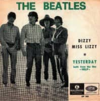 Dizzy Miss Lizzy single artwork – Belgium