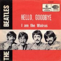 Hello, Goodbye single artwork – Belgium