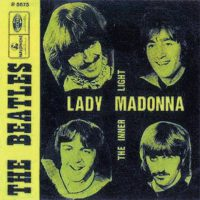 Lady Madonna single artwork – Belgium