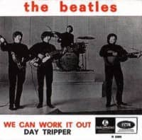 We Can Work It Out/Day Tripper single artwork – Belgium