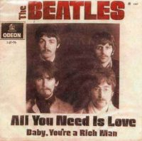 All You Need Is Love single artwork – Brazil