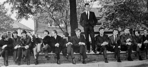 Brian Epstein with NEMS artists