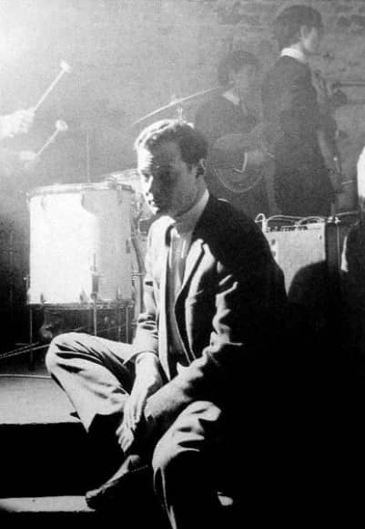 Brian Epstein at the Cavern Club, Liverpool (photo: David Steen)